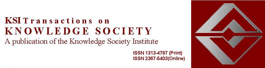 KSI Transactions on KNOWLEDGE SOCIETY